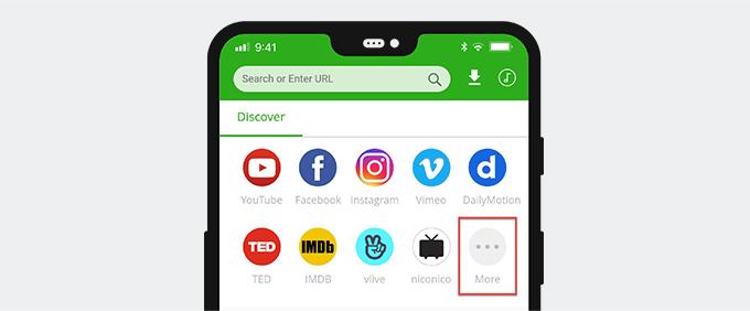 Porn sites on 6Buses video downloader