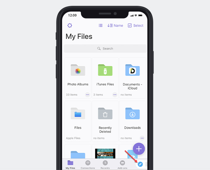 Documents by Readdle file manager