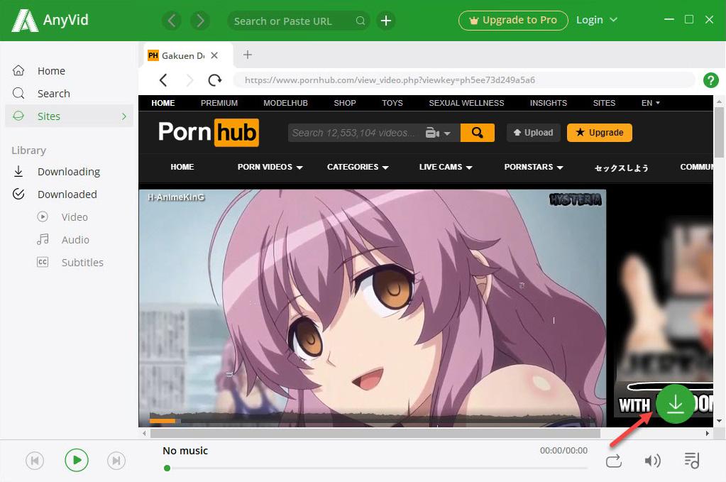 Free Pornhub download with video downloader