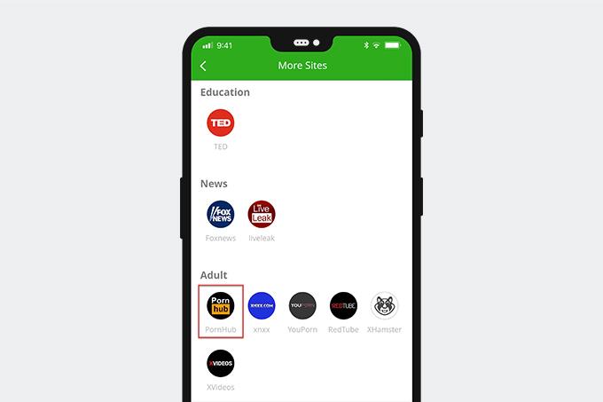 Pornhub to MP4 converter app
