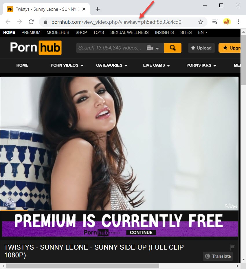 Copy the URL of the Indian porn