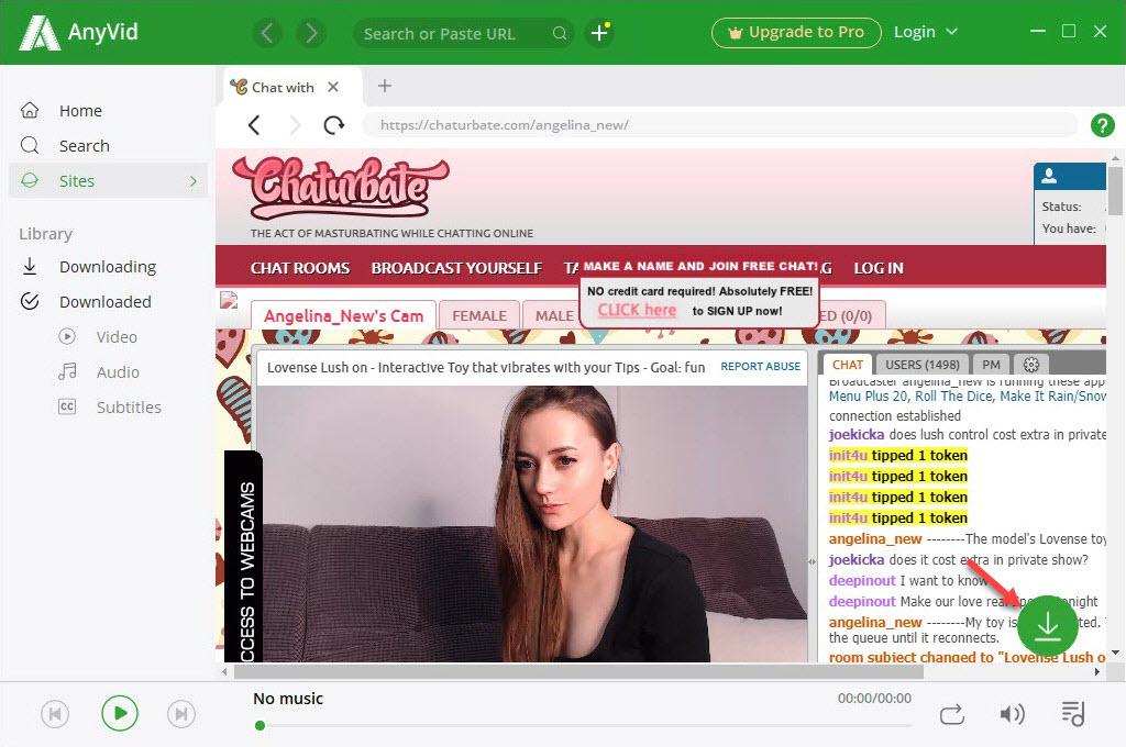 Stream Chaturbate